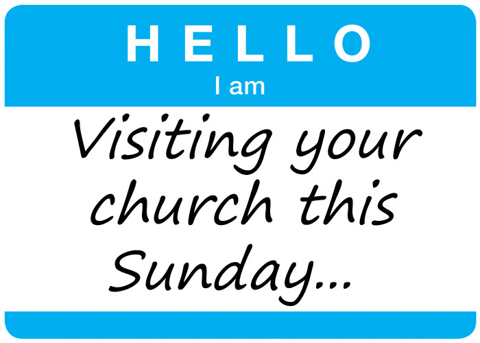 I'M VISITING YOUR CHURCH THIS SUNDAY