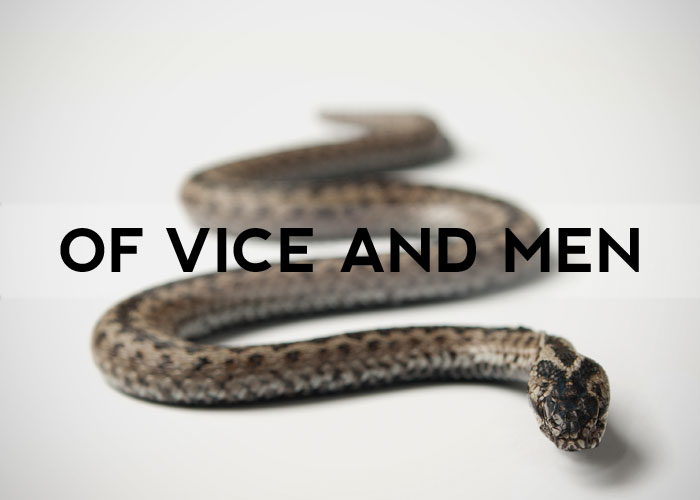 OF VICE AND MEN