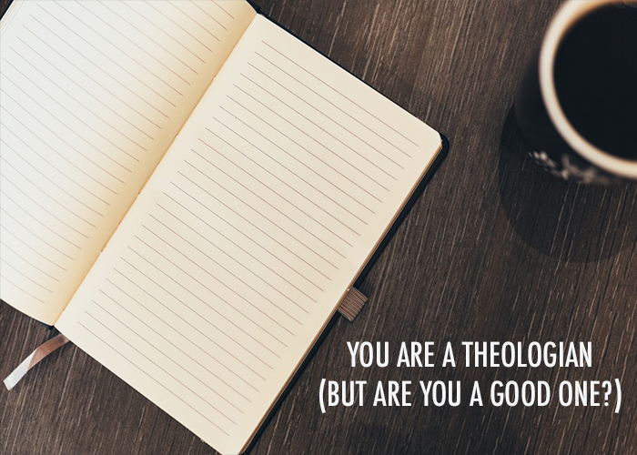 YOU ARE A THEOLOGIAN (BUT ARE YOU A GOOD ONE?)