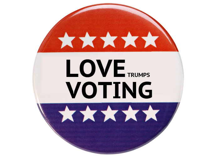LOVE TRUMPS VOTING